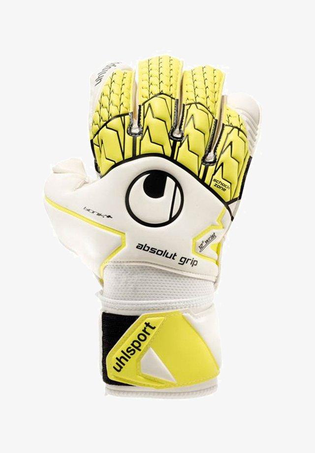 Goalkeeping gloves - weissgelb