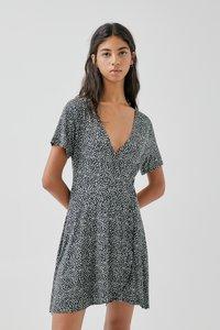 PULL&BEAR - Robe d'été - black - 0