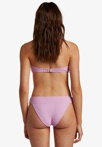 Billabong - TANLINES LULU BANDEAU  - Top de bikini - lit up lilac - 1