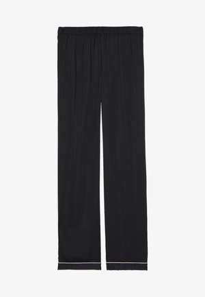SATINHOSE - Pyjama bottoms - black