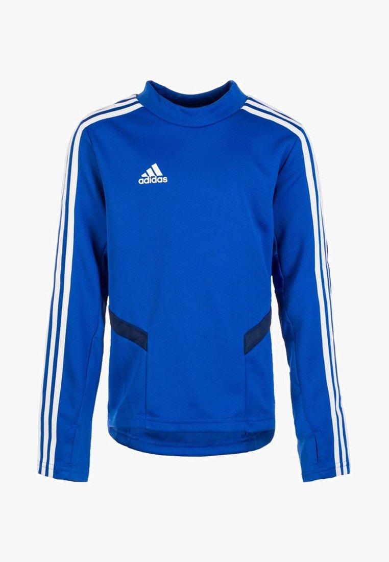 adidas Performance - TIRO 19 SWEATSHIRT - Sports shirt - bold blue / dark blue / white