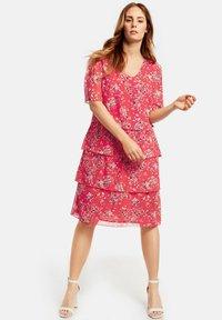 Samoon - Day dress - red - 1