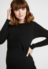 Cotton On - MATERNITY - Long sleeved top - black - 3