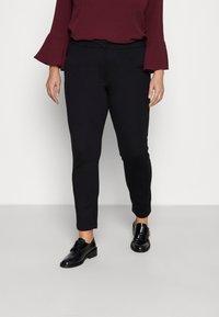 ONLY Carmakoma - CARLENIA VIKA CIGARETTE - Trousers - black - 0