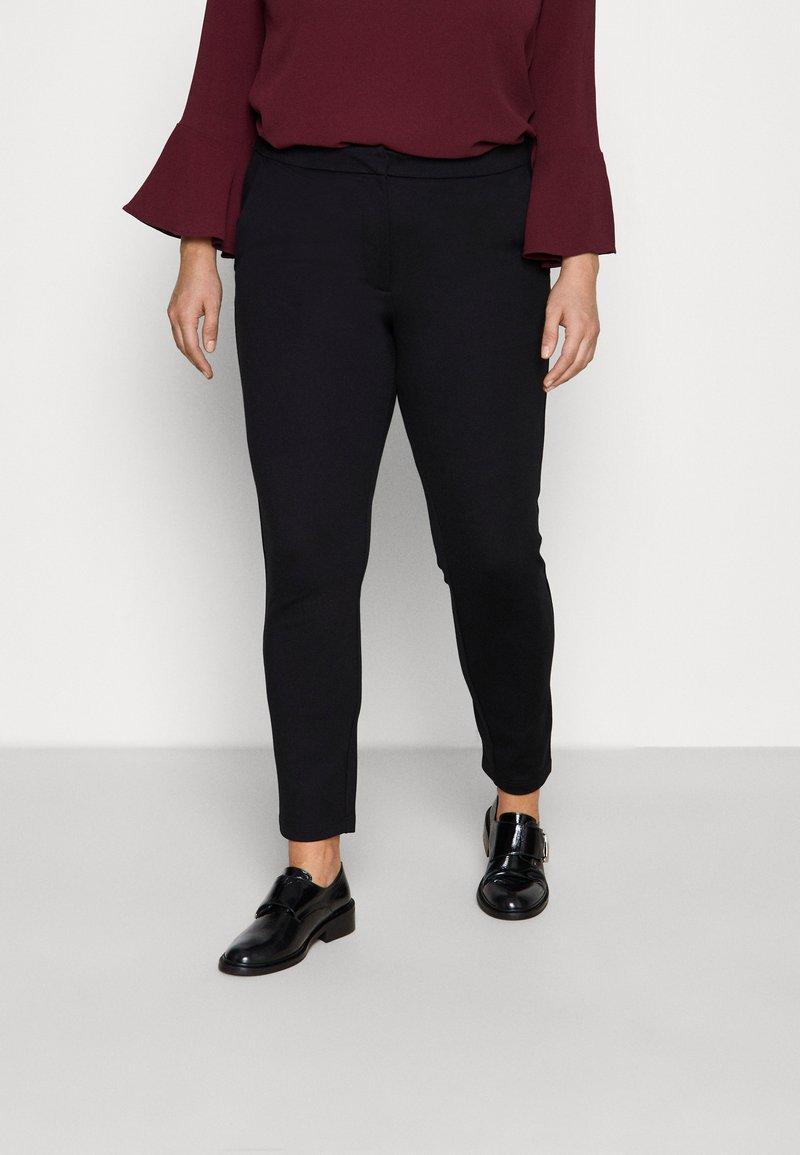 ONLY Carmakoma - CARLENIA VIKA CIGARETTE - Trousers - black