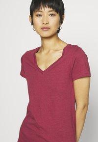GAP - FAV - T-shirt basic - red clay - 4