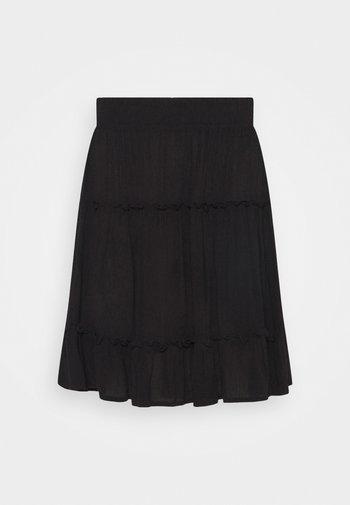 MARRO - A-snit nederdel/ A-formede nederdele - black