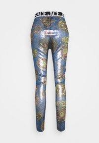 Versace Jeans Couture - PANTS - Leggings - Trousers - blue - 8