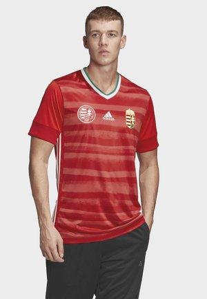 HUNGARY HFF AEROREADY JERSEY - National team wear - red