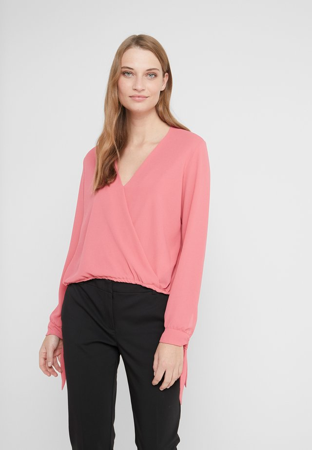 BLUSA INCROCIATA - Pusero - rapture rose