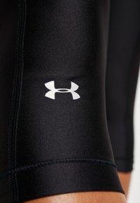 Under Armour - HEATGEAR CAPRI - 3/4 sports trousers - black - 5