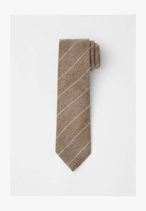Tie - sand beige