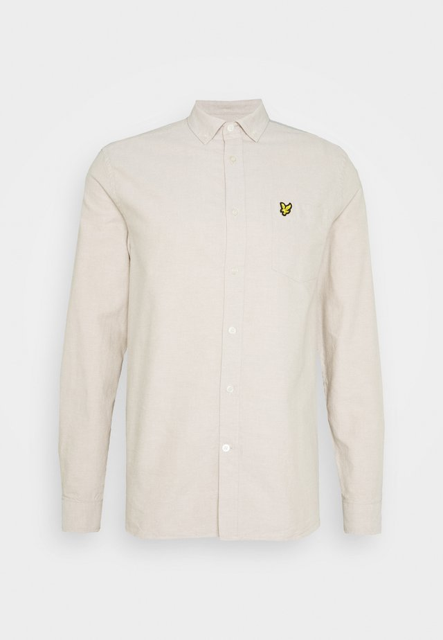 OXFORD  - Camisa - sand storm/white