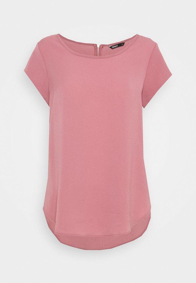 ONLVIC SOLID  - T-shirts - mesa rose