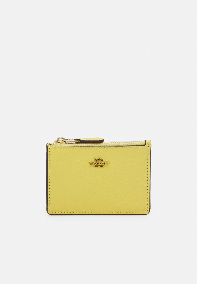 Coach - CROSSGRAIN MINI SKINNY - Wallet - retro yellow
