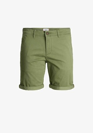 Shorts - deep lichen green