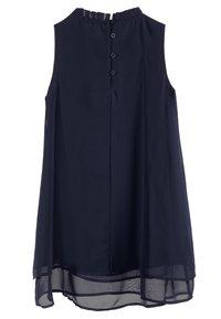 Benetton - DRESS - Cocktailjurk - dark blue - 1