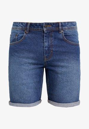 MR ORANGE - Jeansshorts - dark blue