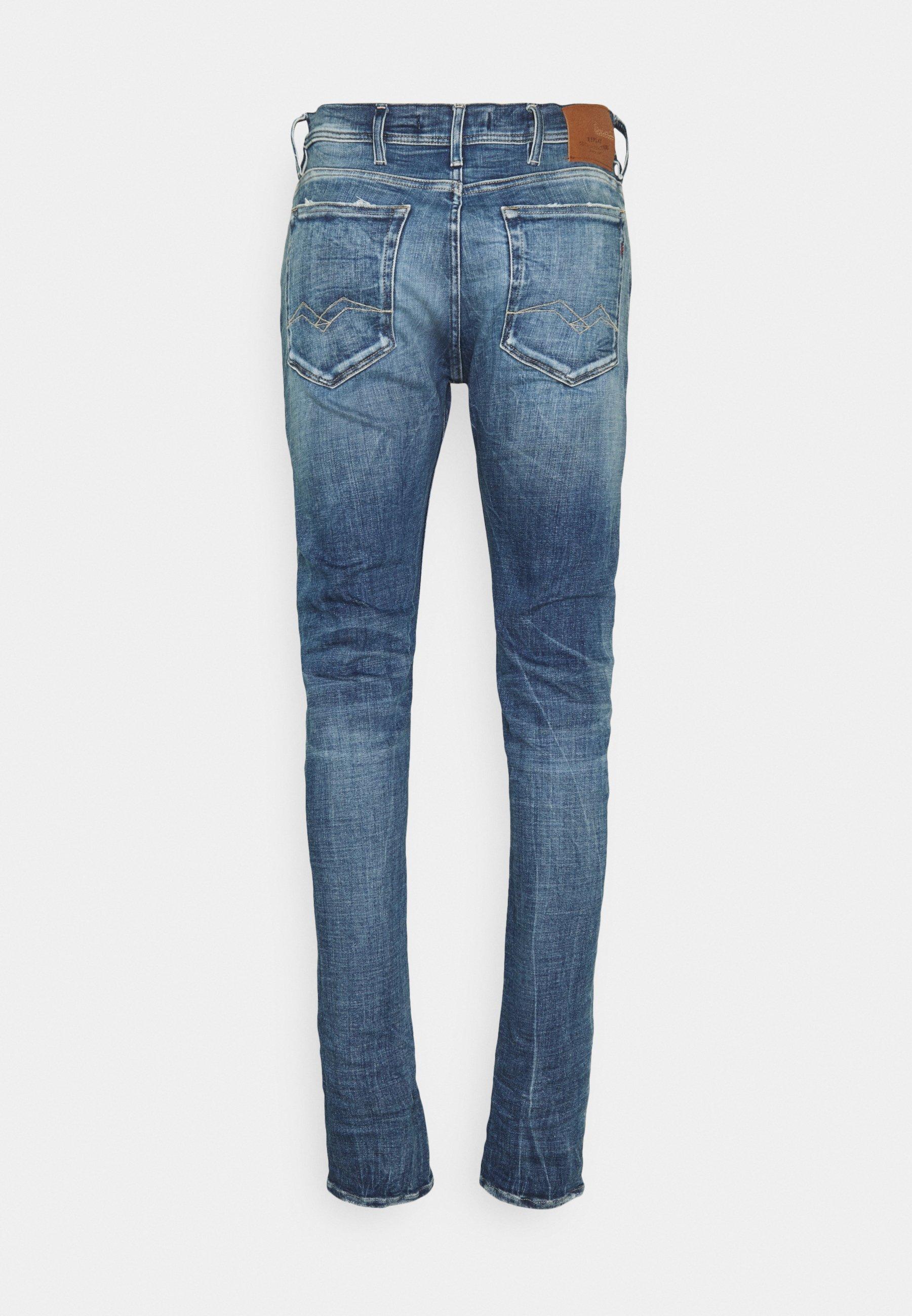 Uomo JONDRILL AGED - Jeans slim fit