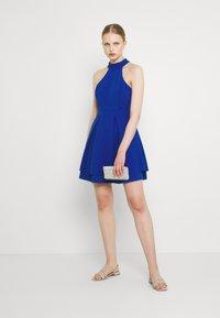 WAL G. - CHERYL HALTER NECK SKATER DRESS - Jersey dress - cobalt blue - 1