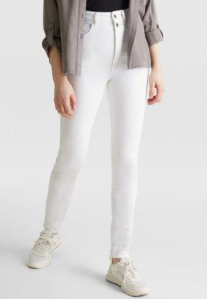 MIT DOPPELKNOPF - Jeans Skinny Fit - white