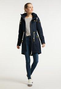 Schmuddelwedda - Winter coat - marine melange - 1