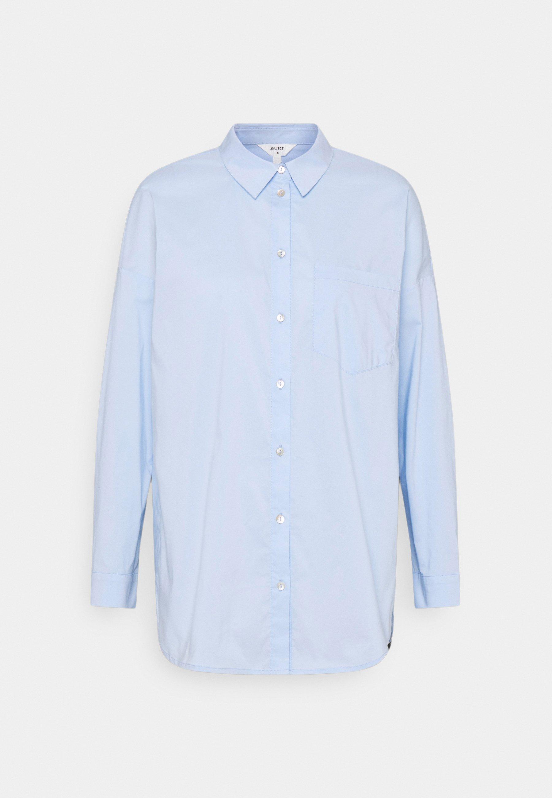 Women OBJMACY - Button-down blouse