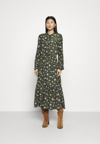 mbyM - ELLINOR - Robe longue - dark green - 0
