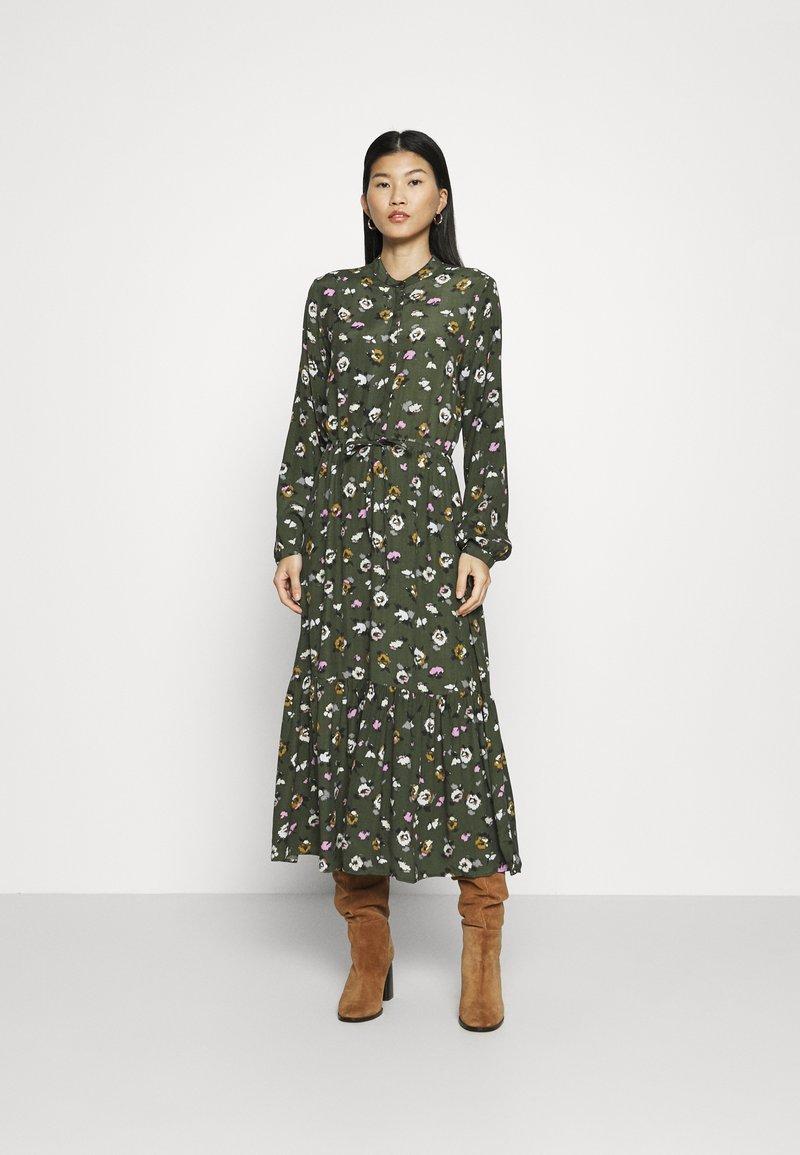 mbyM - ELLINOR - Robe longue - dark green