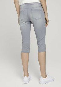 TOM TAILOR - ALEXA  - Jeans Skinny Fit - clean light stone grey denim - 2