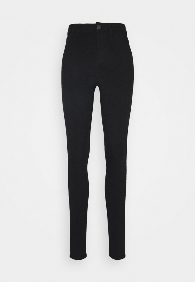 PCHIGHSKIN WEAR TALL - Jeans Skinny Fit - black