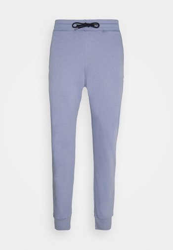 MENS SLIM FIT  - Tracksuit bottoms - light blue