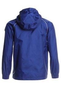 adidas Performance - CORE ELEVEN FOOTBALL JACKET - Hardshell jacket - dkblue/white - 1