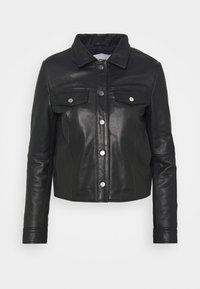 Deadwood - FRANKIE - Leather jacket - black - 4