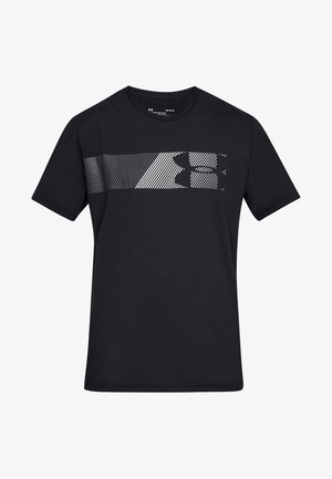 FAST LEFT CHEST - Print T-shirt - Black