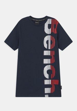 FAST - Print T-shirt - navy