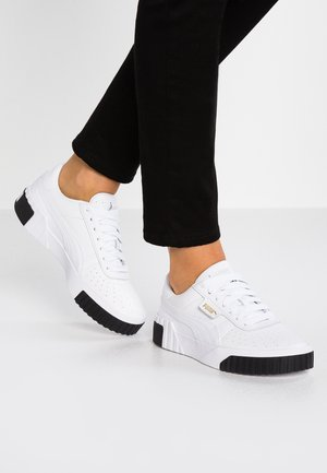 CALI - Matalavartiset tennarit - white/black