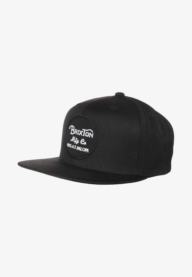 WHEELER SNAP BACK - Cap - black