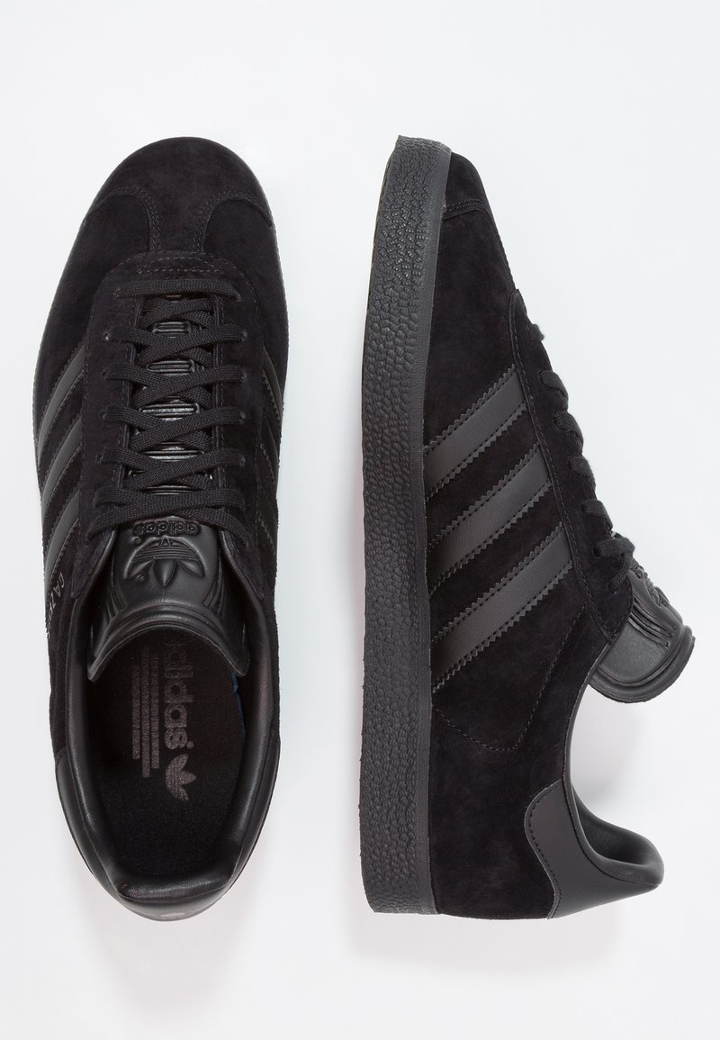 Noticias George Stevenson Fanático  adidas Originals GAZELLE - Trainers - core black/black - Zalando.co.uk