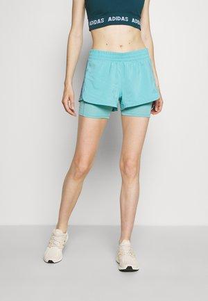 PACER  - Pantaloncini sportivi - mint ton/orbit violet