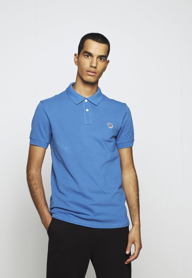 MENS SLIM FIT - Polotričko - blue