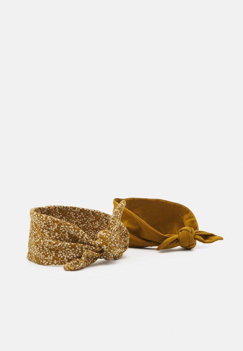Müsli by GREEN COTTON - PETIT FLEUR HEADBAND 2 PACK UNISEX - Hair styling accessory - pesto