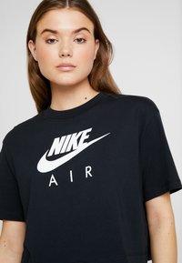 Nike Sportswear - AIR  - Print T-shirt - black - 4