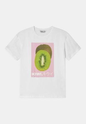 KRISTEL - Print T-shirt - white