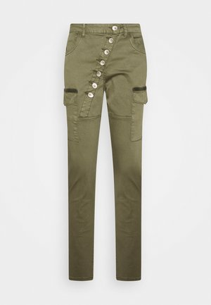 HANNAH BAIILY  - Cargo trousers - sea turtle