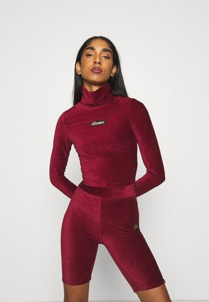 HOLLIE - Topper langermet - burgundy