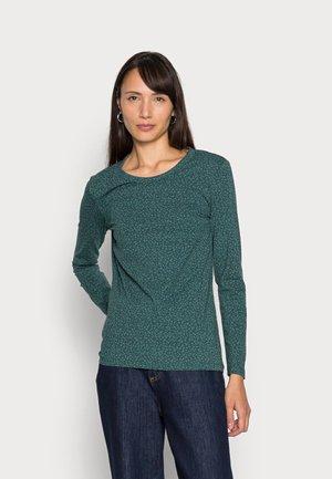 Topper langermet - dark teal green