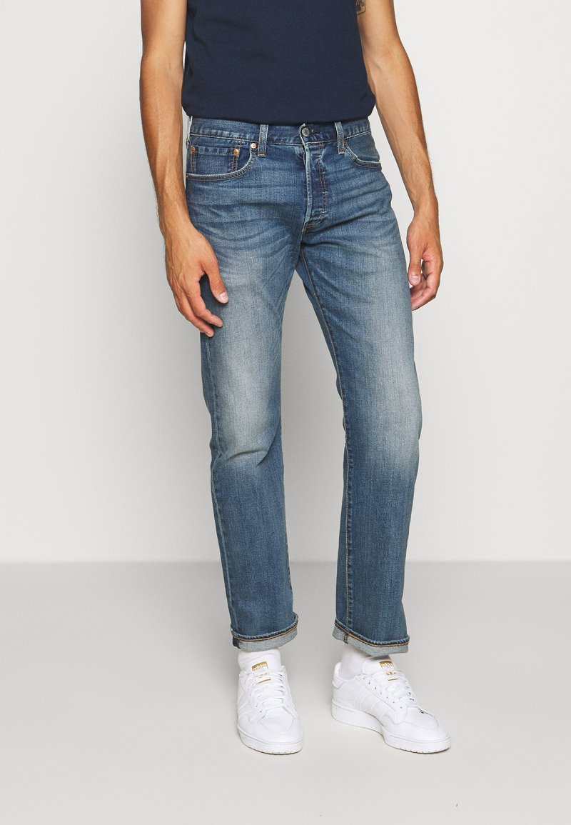Levi's® - 501® ORIGINAL FIT - Džíny Straight Fit - candy paint