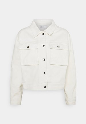 LIGHT SPRING JACKET - Veste en jean - off white
