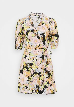 BUSY DAISY WRAP DRESS - Vestido informal - multi
